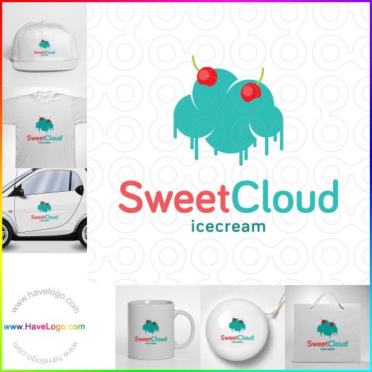 dessert shop logo - ID:49365