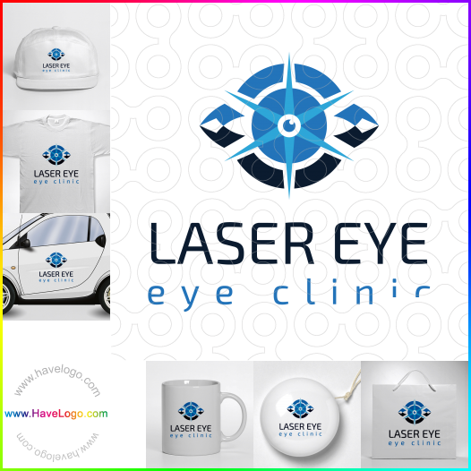 eye clinics logo - ID:42094