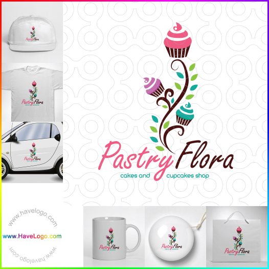 pastry shop logo - ID:52938