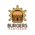 漢堡的神殿Logo