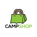Camp Shop  logo