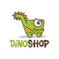 Dino Shop  logo