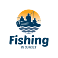 Fishing In Sunset  logo