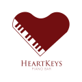 Heart Keys  logo