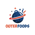 外的食物Logo