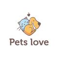 Pets love  logo