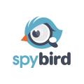 間諜鳥 Logo