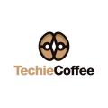 Techie Coffee  logo