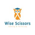 聰明的剪刀Logo