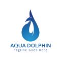 水色海豚Logo
