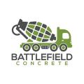 戰場上的具體Logo