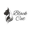 黑貓Logo