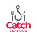 Catch Seafood  logo