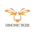 dimonic虎Logo