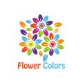 花的顏色Logo