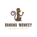 Banana Monkey  logo