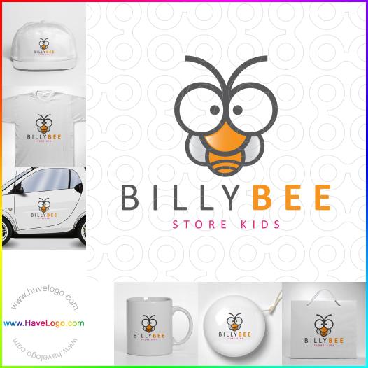 比利蜂logo設計 - ID:65558