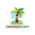Coconut Cafe  logo