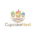Cupcake Nest  logo