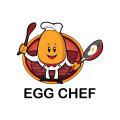 雞蛋的廚師Logo