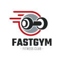 Fast Gym  logo