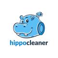河馬清潔Logo