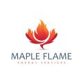 楓樹火焰Logo