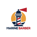 海洋理髮Logo