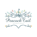 Peacock Tail  logo