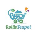 Rollin Teapot  logo