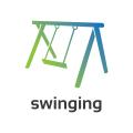 Swinging  logo
