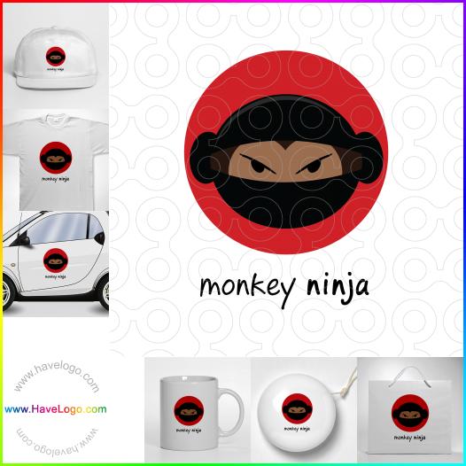 忍者logo設計 - ID:53066