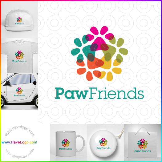 寵物logo - ID:51543