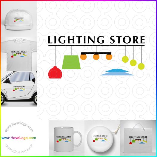 燈泡logo設計 - ID:107