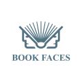 Book faces  logo
