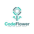 Code Flower  logo