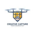創意無人機Logo