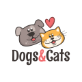 Dogs & Cats  logo