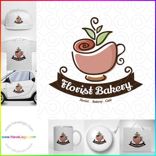 Florist Bakery Cafe  logo - ID:65480