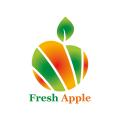 新鮮的蘋果Logo
