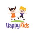 快樂的孩子Logo