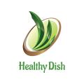 健康的菜Logo