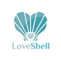 Love Shell  logo