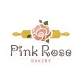 粉紅玫瑰麵包Logo