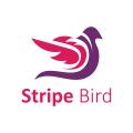 Stripe Bird  logo