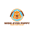 Wide-Eyed Puppy  logo