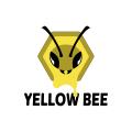 Yellow bee  logo