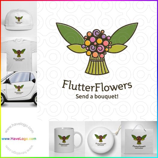 florists logo - ID:50701