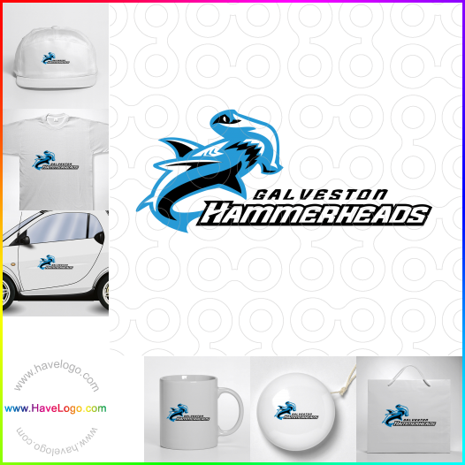 鯊魚logo - ID:49294