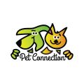 pet connection  logo